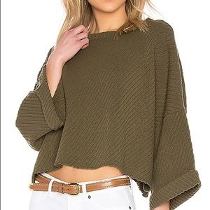 FP I can't wait cropped sweater